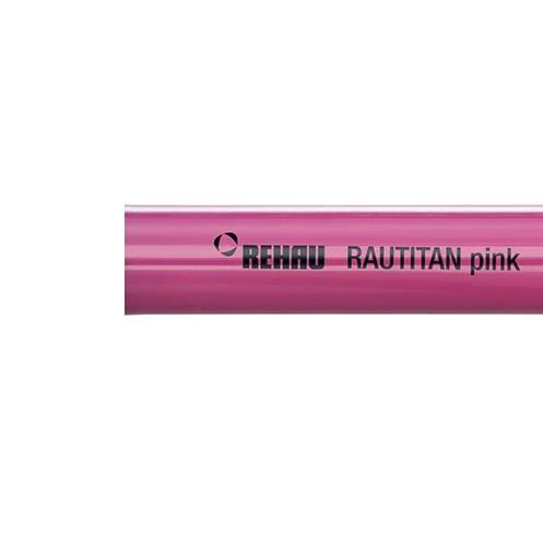 купить Труба Rehau Rautitan Pink Ø 20 х 2.8 - 1
