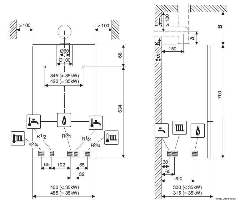 купить Котёл газовый Bosch Gaz 6000 W WBN 24C RN - 3