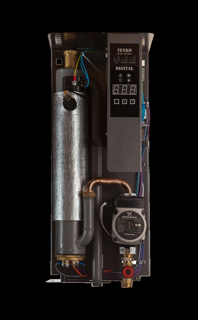 купить Котел Tenko Cтандарт Digital 380 Grundfos - 2