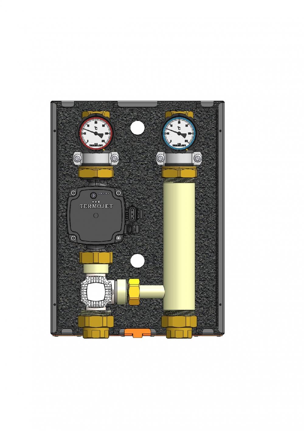 купить Насосная группа с термокраном Termojet  НГ- 49 - 1