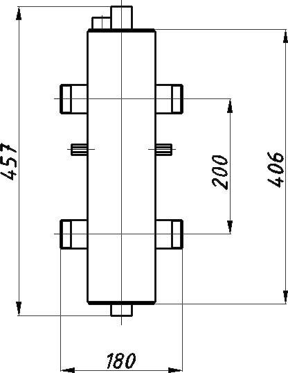 купить Гидрострелка Termojet СК-26 - 1