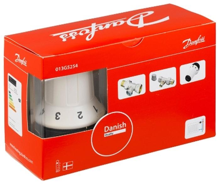 купить Комплект радиаторных терморегуляторов Danfoss RA-FN, RAS-C, RLV-S прямой  - 1