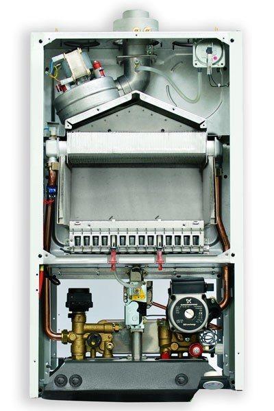 купить Котёл газовый двухконтурный 24 кВт BAXI Luna 3 24 i - 1
