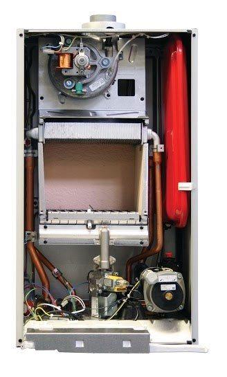купить Котёл газовый двухконтурный 14 кВт BAXI Main 5 14 Fi - 1