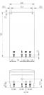 купить Котёл газовый одноконтурный 24 кВт BAXI ECO four 1.24 Fi - 1